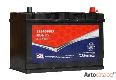 AD аккумулятор 95Ah 830A 306x225x173мм 595404083AD
